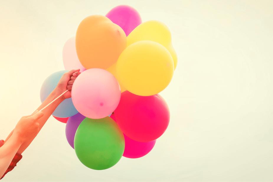 sueños, éxito, globos, oportunidades, desafíos, momentos difíciles
